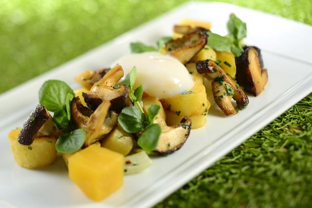 Fresh Mushroom Pytti-I-panna